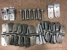 "44 Pack Todco Whiting Door Repair Kit- ALL Hinges + 1"" Rollers Morgan Overhead"