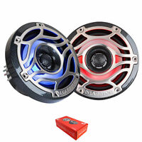 "Pair of Massive Audio T65S 6.5"" 320 Watt 4 Ohm 2-Way Marine Coaxial Speakers"