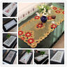 Embroidered Cutwork Tablecloth Flower Table Cover Cloth Home Wedding Party Decor