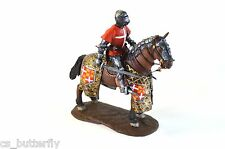 Mounted Knight Hospitaller 1/32 medieval horseman Toy soldier Handmade Painted