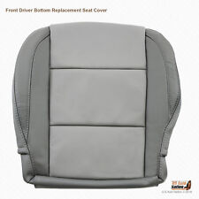 2005 2006 DRIVER Bottom LEATHER Replacement Cover For Nissan Titan 2-TONE GRAY