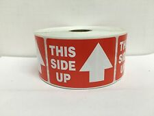 1000 Labels 2x3 ARROW This Side Up Special Handling Shipping Mailing Stickers