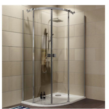 B&Q Cooke & Lewis Luxuriant offset quadrant shower enclosure with tray RRP£515