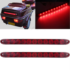 "One Pcs 15"" 11LED Car SUV Truck Stop Brake Turn Light Submersible Lamp Strip Red"