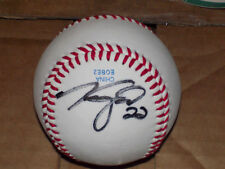 BASEBALL SIGNED BY ANDERSON FELIZ, TAYLOR GROTE, AND GARRISON LASSITER