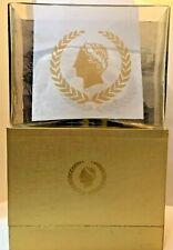 Caesars Palace Casino Hotel Memorabilia Rectangular Vase in Original Box - New