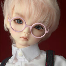 "Red Dollmore 1.96/"" width glasses MSD Shape Steel Lensless Frames Glasses"