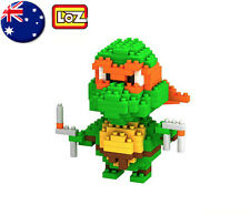 LOZ BLOCK NINJA TURTLE Michaelango Micro Mini Building Lego Nano Block Nanoblock