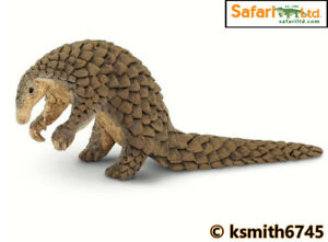 Safari BIG PANGOLIN solid plastic toy wild zoo animal  * NEW *💥