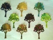 Batik Oak Trees fabric Pack remnants patchwork bundle 100%cotton