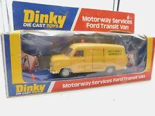 DINKY TOYS 417 * FORD TRANSIT VAN * MOTORWAY SERVICES * 1:43 * OVP * 1976