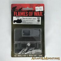 WW2 Axis SD KFZ 250/1 Halftrack (late) - Blister - Flames of War C1604