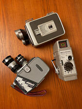 Lot o 3 Vintage Movie Cameras Brownie Kodak / Yashica-8 / Bell & Howard One Nine