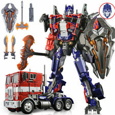 "WJ Optimus Prime G1 M01 Autobot Transformers OverSize 12"" Figure Kid Gift"