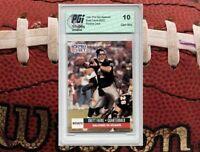 1991 Brett Favre PRO SET SPANISH Rookie Card RC PGI 10