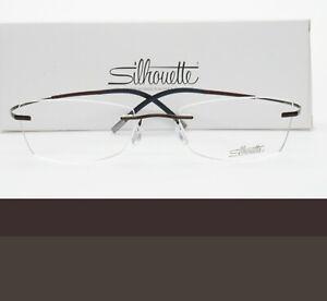 SILHOUETTE Rimless Eyeglasses 52mm 4339 40 6062 52-19-145 Brand New