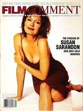 Film Comment March/April 2003 Susan Sarandon Aki Kaurismaki Jia Zhangke