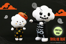 FLUFFY HOUSE MR. WHITE CLOUD & MISS RAINBOW Halloween Ver. Sofubi Art toys
