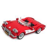 LEGO MOC Custom Chevrolet Corvette C1-Only Building PDF Instructions! No Bricks!