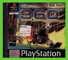 360 THREE SIXTY NUOVO playstation ITALIA 1 ps1 SIGILLATO play 2play 1