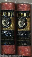 Italian Dry Salame by Columbus! 2- 8 Ounce Chubs!  Gallo Salami Fans,TRYTHISTOO!