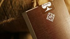 BROWN ROUNDERS by MADISON BLACK Ellusionist Bicycle deck Playing Cards Elegant