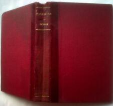LORD LYTTON.RIENZI THE LAST OF THE ROMAN TRIBUNES.H/B 1848 V/GOOD