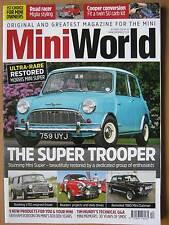 Mini World December 2016 Morris Mini Super VTEC Estate Clubman Sprite Cooper