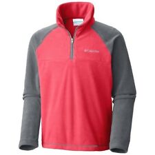 COLUMBIA Glacial Fleece Half Zip Jacket, Toddler Boy's Red/Gray size XXS