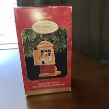 "1997 Hallmark Keepsake Christmas Ornament Collector's Club ""Away to the Window"""