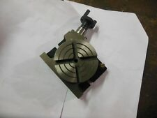 "4"" Inch Rotary Table Horizontal Vertical Use Brand New For Diy Machinists"