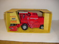 1/20 Vintage Massey Ferguson 760 Combine by ERTL W/Grey Wheels & Yellow Box!