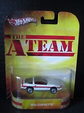 The A Team 80's Corvette Hot Wheels Hollywood Real Riders 1/64 Diecast