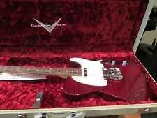 Fender Custom Shop Custom Deluxe Telecaster AAA Flame Top Bing Cherry 2013 NOS