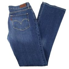 LEVI'S Bold Curve Womens Size 30 Modern Rise Bootcut Skinny Blue Jeans 29 x 32