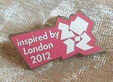 Inspirado por Juegos Olímpicos de Londres 2012 Pin Insignia Rosa Deporte británico Coleccionable