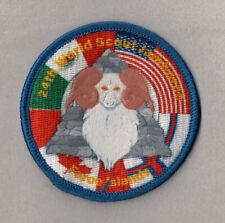 2019 World Scout Jamboree FAROE ISLANDS Contingent badge