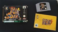 CONKER'S BAD FUR DAY - Nintendo 64 N64 - UK PAL - Boxed with Manual