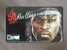 Gift Card ( to collect , No value ) USA - 50 Cent / Bulletproof