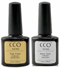 CCO UV LED Nail Gel Professional TOP and BASE Coat for All Brands UK FREE P&P