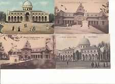 Lot 4 cartes postales anciennes MARSEILLE EXPO COLONIALE MADAGASCAR 2