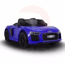 Audi R8 Spyder Super Sports Car Kids Ride On Car 12V Lights Parental Remote, MP3