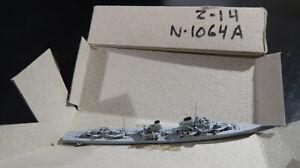 g 1:1250 Waterline Navis Neptun Z-14 16 1940 No 1064a