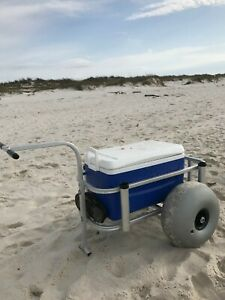 Beach Cart Balloon Fishing Kayak Sand Cart 'Axle Kit' - UPGRADE YOUR CART