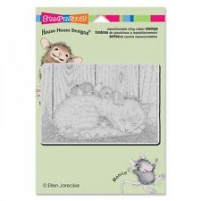 HOUSE MOUSE RUBBER STAMPS CLING CAT NAP NEW cling STAMP