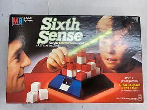 780 Vintage SIXTH SENSE board game MB Games (Electronics) 1982 retro board game