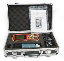 Ultrasonic Thickness Gauge 0,1 mm Meter Tester muro tubazione SERBATOIO 12 Mesi Garanzia