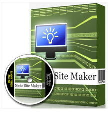NICHE WEBSITE MAKER - Creates Online Marketing Affiliate Websites + MRR