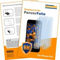 mumbi 3x Panzerfolie für Apple iPhone 6s 6 Folie Schutzfolie Displayschutzfolie