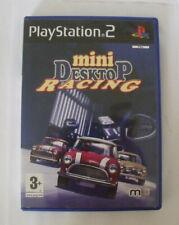 JEu PS2 - Mini desktop racing - FR Complet